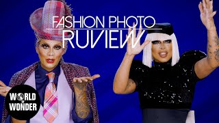 FASHION PHOTO RUVIEW: RuPaul's Drag Race UK Series 1 Episode 3