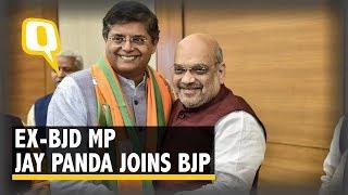 Ex-BJD Leader Jay Panda Joins BJP Ahead of 2019 Odisha Assembly Polls
