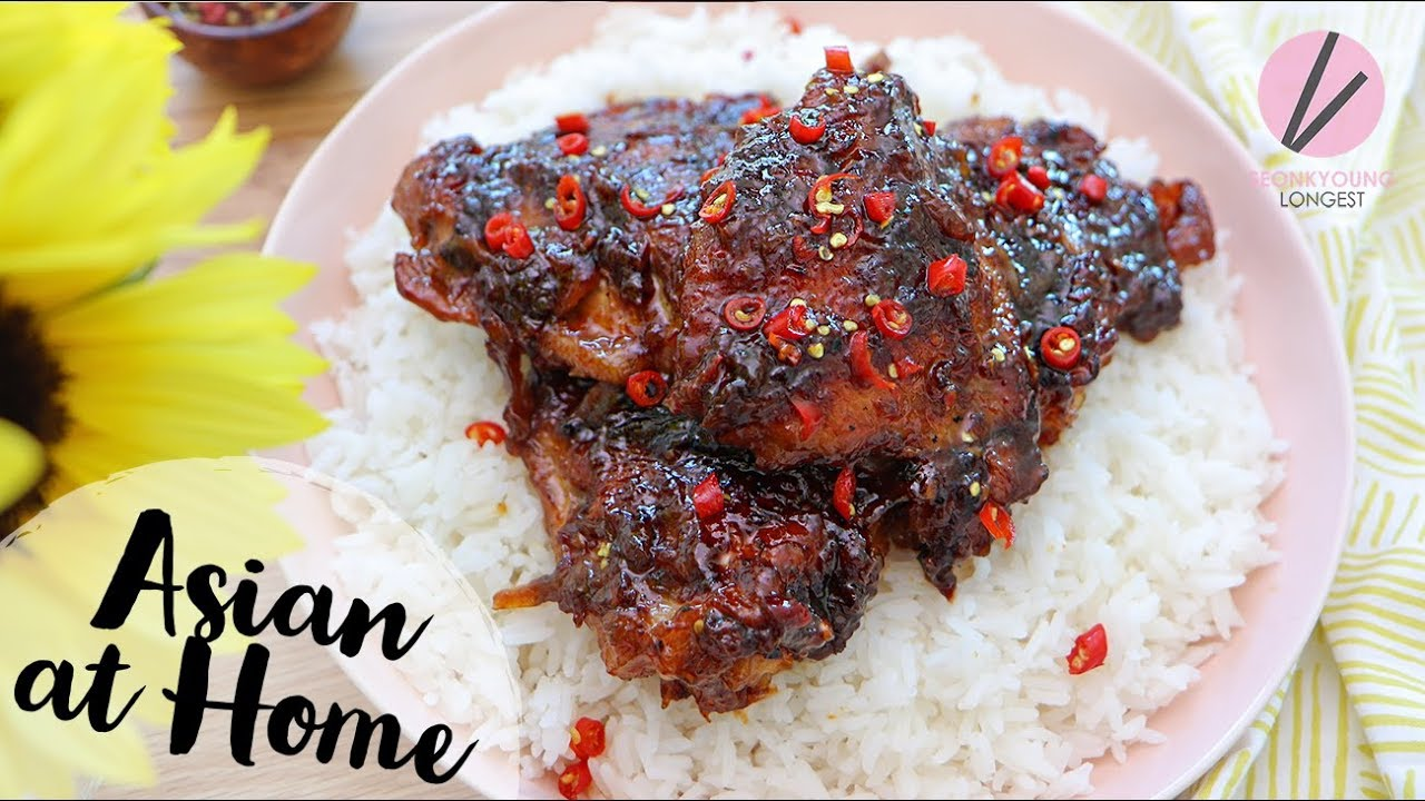 Honey Coconut Caramelized Chicken & GIVEAWAY!