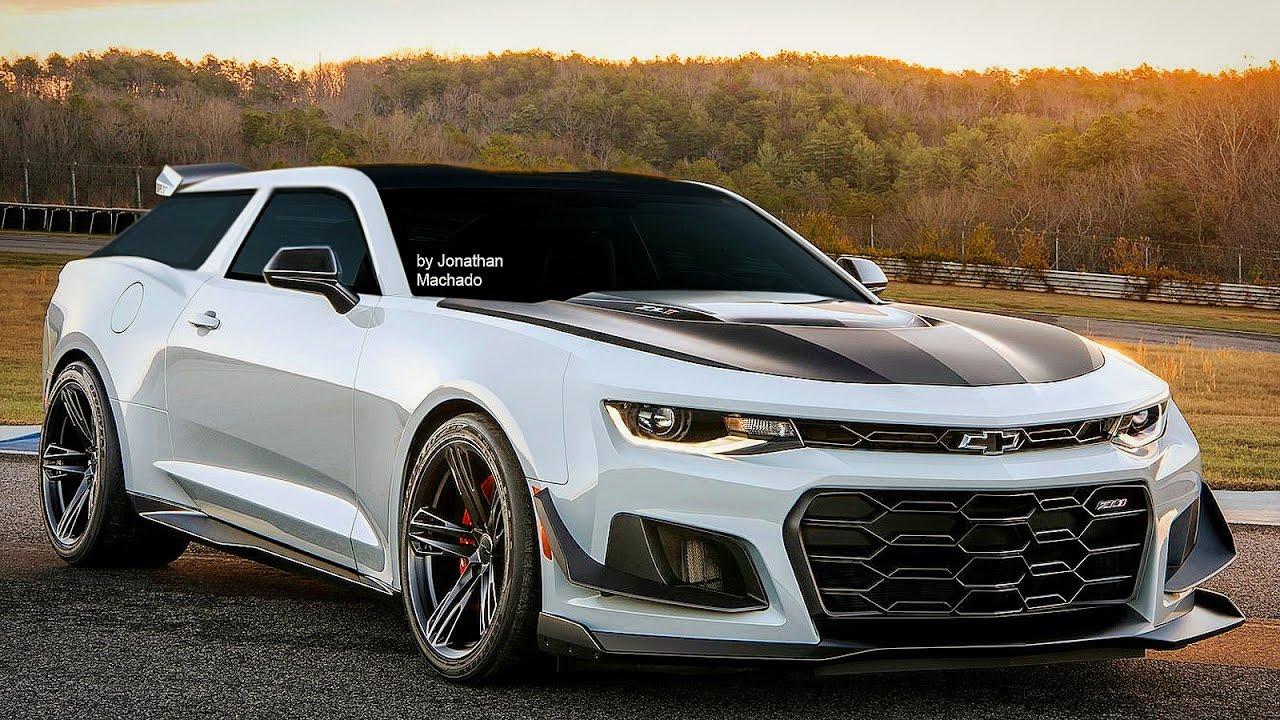 Render 2018 Chevrolet Camaro Nomad Zl1 1le Shooting Brake