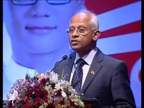 Mr Lalith Weeratunga at World Youth Conference