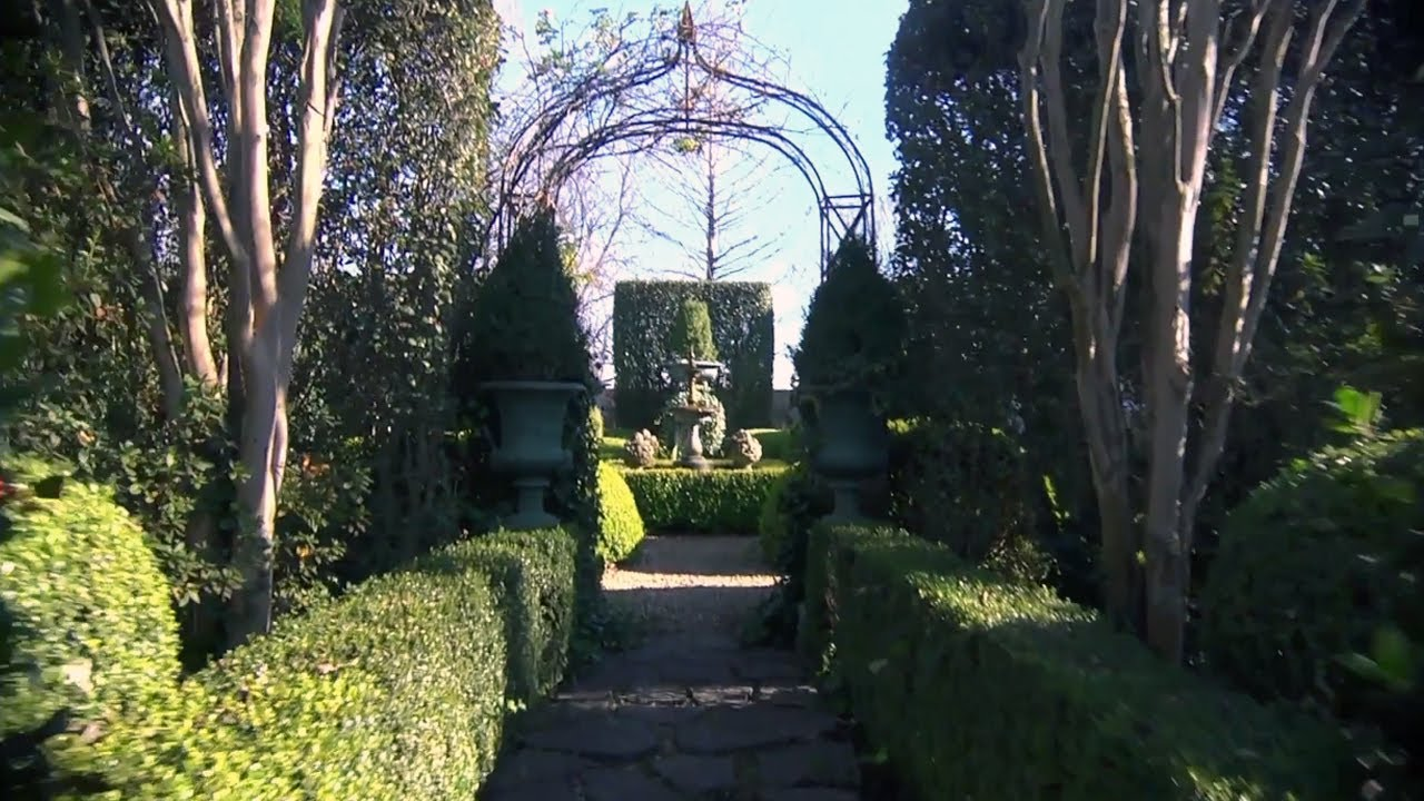 Formal Garden Design At Home With P Allen Smith YouTube