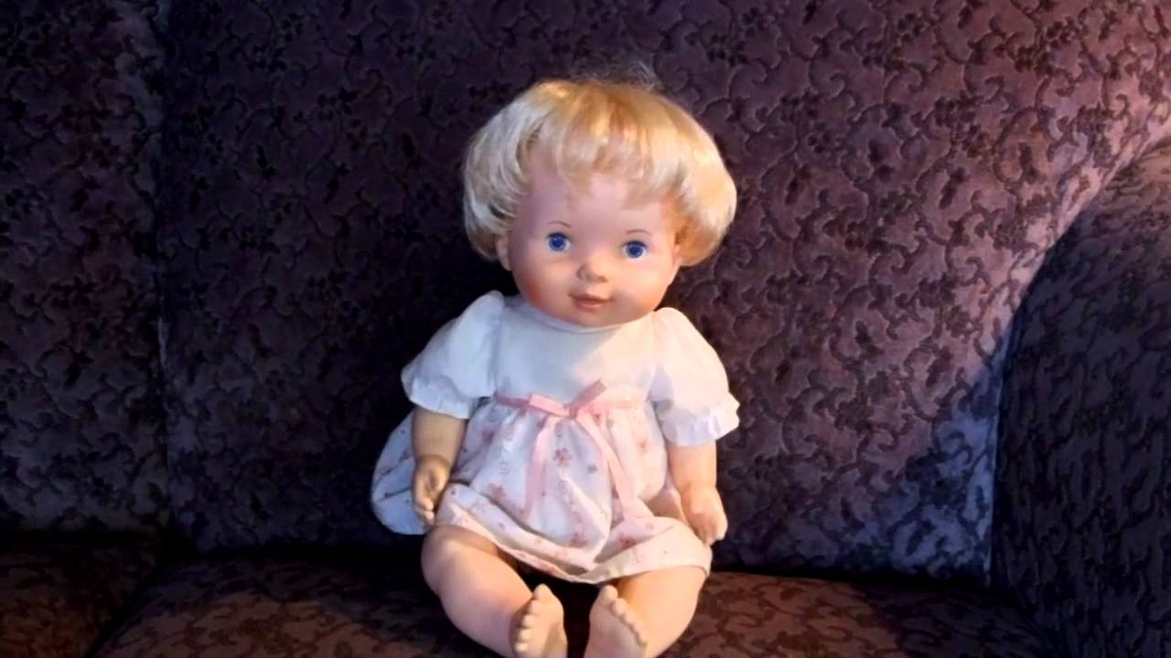 1979 FISHER PRICE BABY SOFT SOUNDS DOLL 213  YouTube