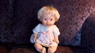 1979 FISHER PRICE BABY SOFT SOUNDS DOLL #213