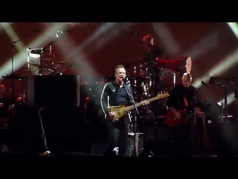 """Sting & Peter Gabriel """"Walking in Your Footsteps""""/""""Kiss That Frog"""" Jones Beach NY 6/24/16"""