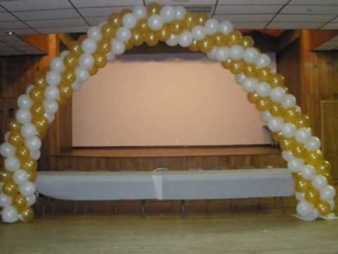 Decoracion con globos para boda por adornoglobos youtube - Decoraciones para bodas sencillas ...