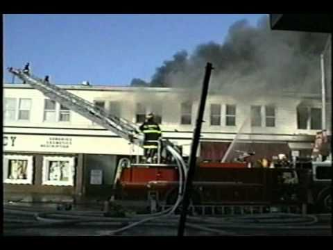 Main Street Allenhurst, NJ 1992 Christmas Day Fire - Part 4 of 5