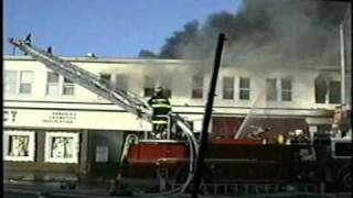 Main Street Allenhurst, NJ 1992 Christmas Day Fire - Part 4 of 5