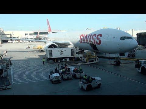 SWISS Boeing 777-300ER HB-JNJ LX 41 Los Angeles-Zurich Economy Class Trip Report