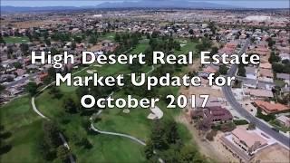 October 2017 Real Estate Market Update for the High Desert