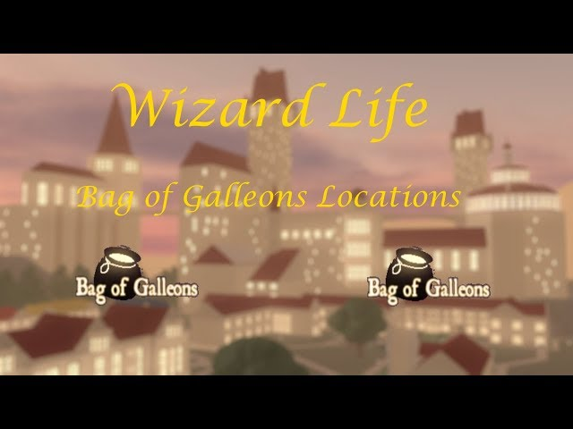 Bag of Galleons Locations Wizard Life