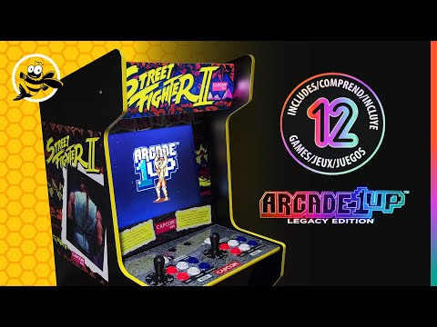 Arcade 1up Capcom Legacy Edition - First Impressions in 2021! from FishBee Productions