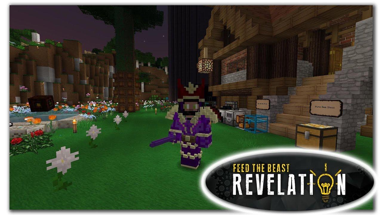 Draconic Evolution Wyvern Armor - Minecraft FTB Revelation - Episode 32