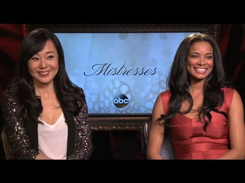 Mistresses  Yunjin Kim and Rochelle Aytes  Opposite Sides of the Story