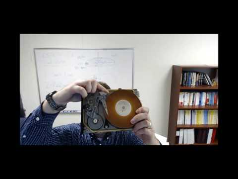 OS Lecture: Hard Disk Drives
