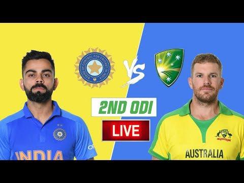 LIVE – IND Vs AUS 2nd Odi Match Live Score, India Vs Australia Live Cricket Match Highlights Today