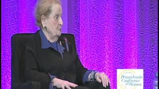 Madeleine Albright & Karen Tumulty - Pennsylvania Conference for Women 2013