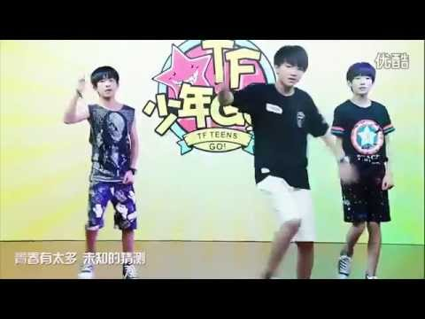 開始Youtube練舞:青春修煉手冊-TFBOYS | 個人自學MV