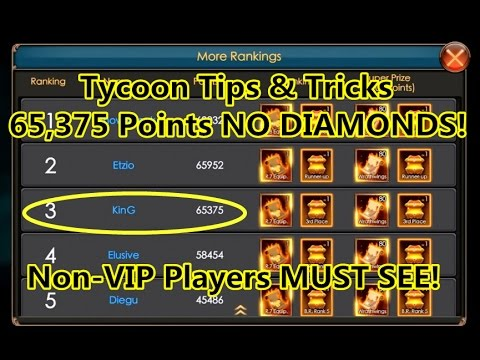 Legacy Of Discord- Tips and tricks for Tycoon  65,375 Points No Diamonds  Part 3