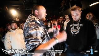 Basementality Battles: Shazaam vs Nicko Mack - 6 ronder @ Fasching