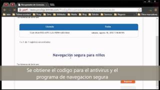 Recuperar Licencia Antivirus PC Tools Internet Security de Telmex