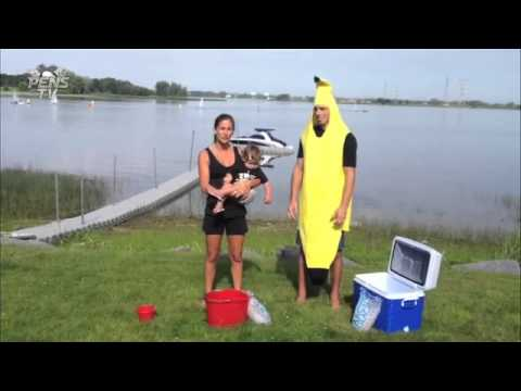 ALS Marc Andre Fleury Ice Bucket Challenge Pittsburgh ...