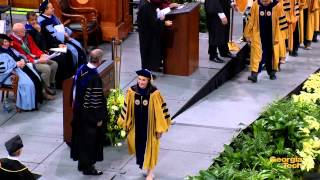Georgia Tech Doctoral and Master's Commencement Ceremony Dec. 12, 2014