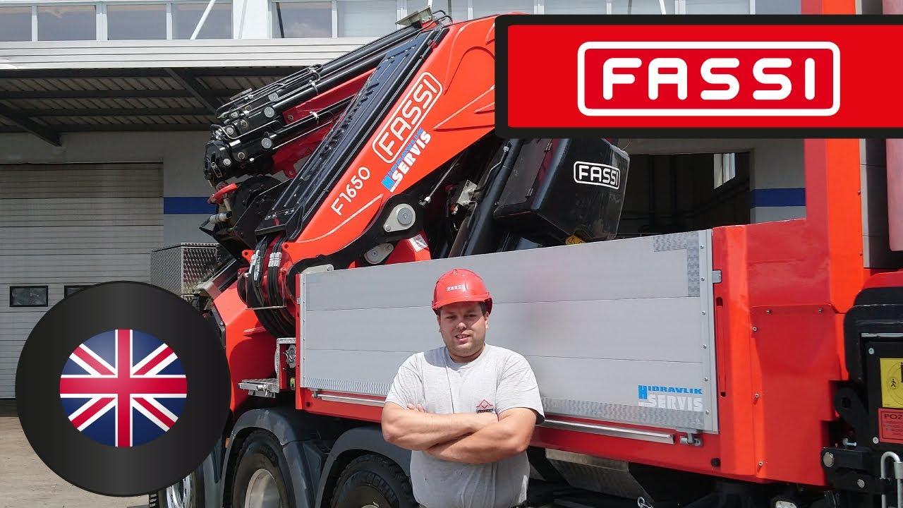 Download The Fassi F1650RA custom-made crane for demanding crane operations