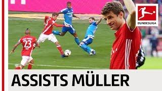 Thomas Müller - All Assists 2016/17 Season