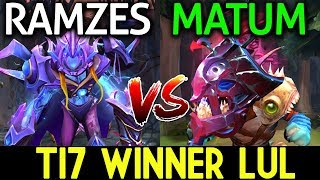 Video Ramzes [Arc Warden] VS Matumbaman [Slark] Dota 2 - Ti7 Winner LUL download MP3, 3GP, MP4, WEBM, AVI, FLV Juni 2018