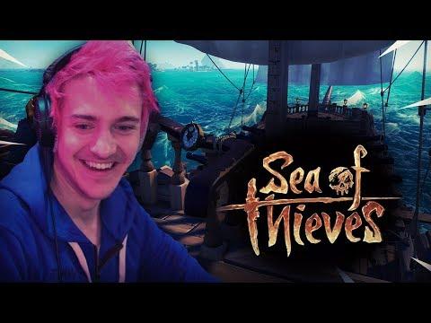 Ninja Plays Sea Of Thieves!