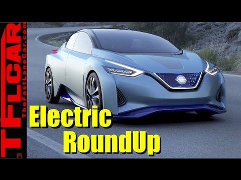 Electric Car Roundup from the 2017 Detroit Auto Show: Comprehensive Guide