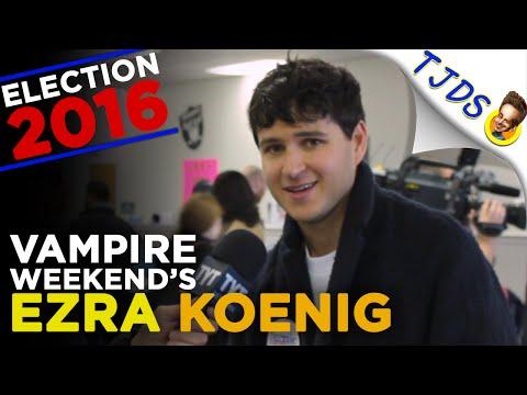 Vampire Weekend's Ezra Koenig Dispels Bernie Bros & Other Bernie Myths - Interview