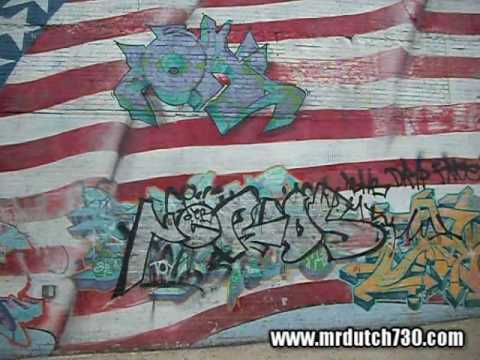 Graffiti NYC Bronx 2010 - Throwups, Wildstyle, Murals, Graff Bombing  (Mrdutch730 # 68)