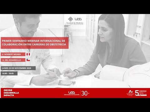 I Seminario Webinar Internacional de Colaboración entre carreras de Obstetricia