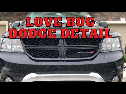 Love Bug Detail On Dodge Durango