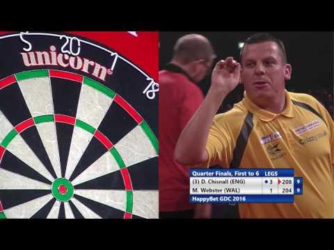 HappyBet German Darts Championship 2016 - Quarter-Finals - Dave Chisnall v Mark Webster