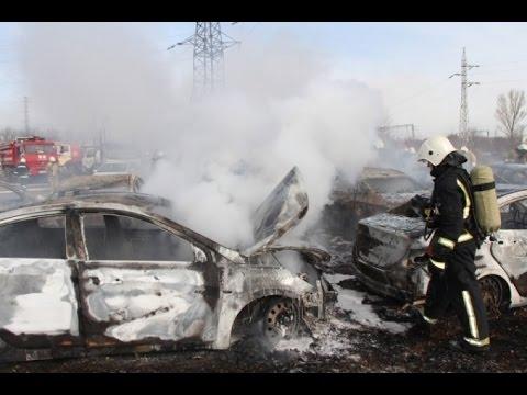 Пожар симферопольское шоссе 26 марта 2017