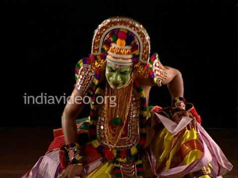 Garuda Garva Bhangam, a bit from Ottan Thullal
