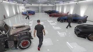 Grand Theft Auto V Online (Xbox 360)   Meetup w/ Crew, Garage Tours, Drag Racing, Funny Moments