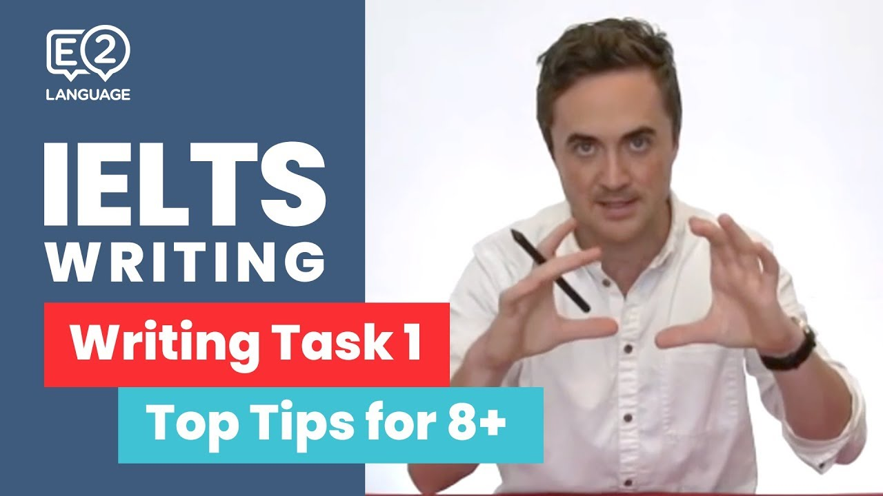Download E2 IELTS Academic Writing Task 1 | Top Tips for 8+ with Jay!