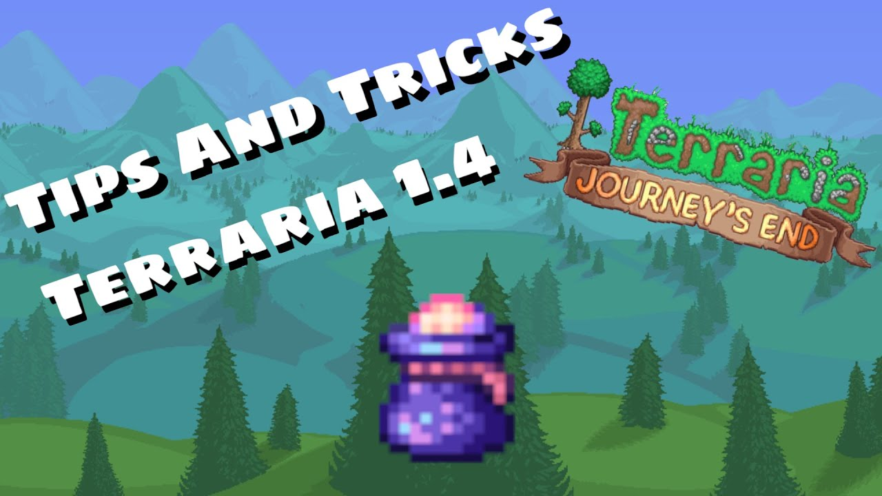 [1.4] 20 Tips And Tricks For Terraria Beginners!