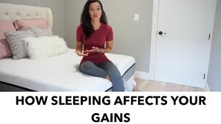 How Sleeping Affects Your Gains | Lull Mattress Review