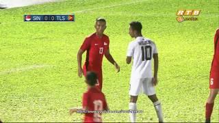 Download lagu HBT 2018 - Singapore Vs Timor Leste - Semi Final
