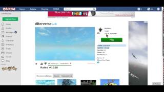 ROBLOX account [PG'ed called Troll!!]