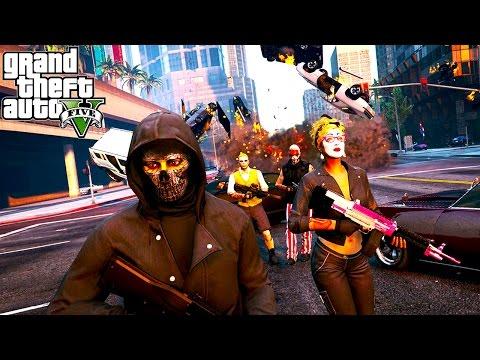 GTA 5 - FREEROAM MADNESS, BOUNTY HUNTING & CUSTOM JOBS! (GTA 5 Online)