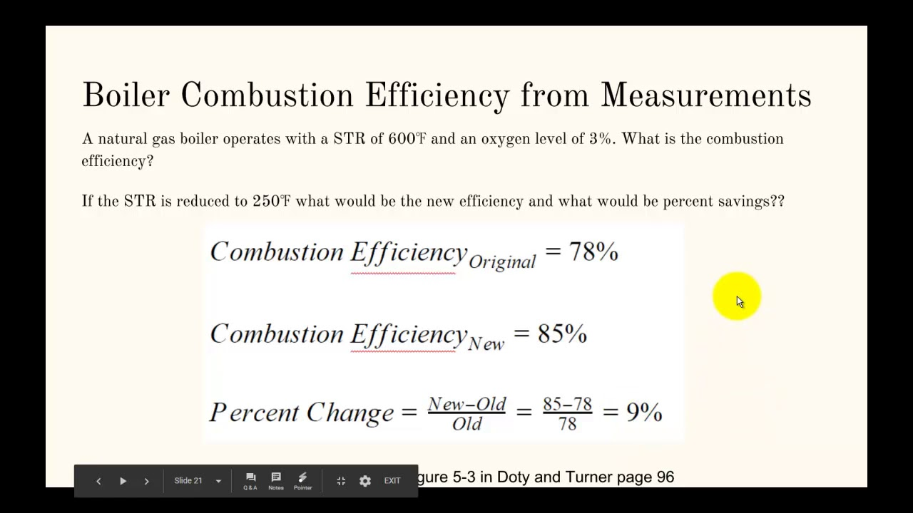 Certified Energy Manager Calculation Review: Boilers/Steam - YouTube