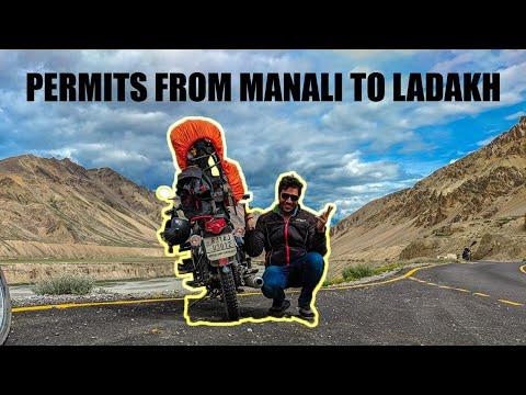 PERMITS FOR LADAKH TRIP