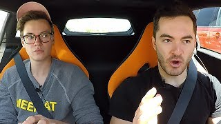 Driving the McLaren with Steven Suptic
