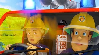 Fireman Sam 2017 New Episodes | Twitching the Night Away - Best Rescues 🚒 🔥 Cartoons for Children